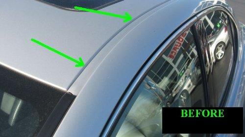 2002 2006 Aston Martin Vanquish Carbon Fiber Roof Trim